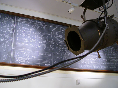 Projector enclosure for the Map of the Known Universe.