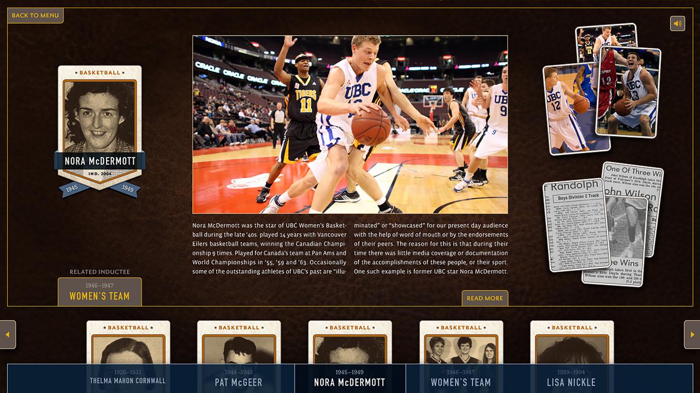 Athlete biography.