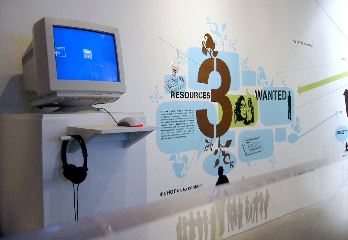 Exhibition Graphics.