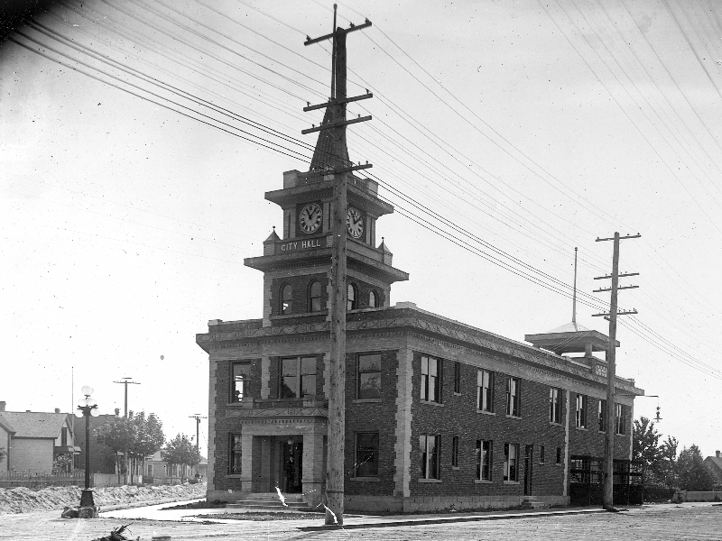 Georgetown City Hall, 1900