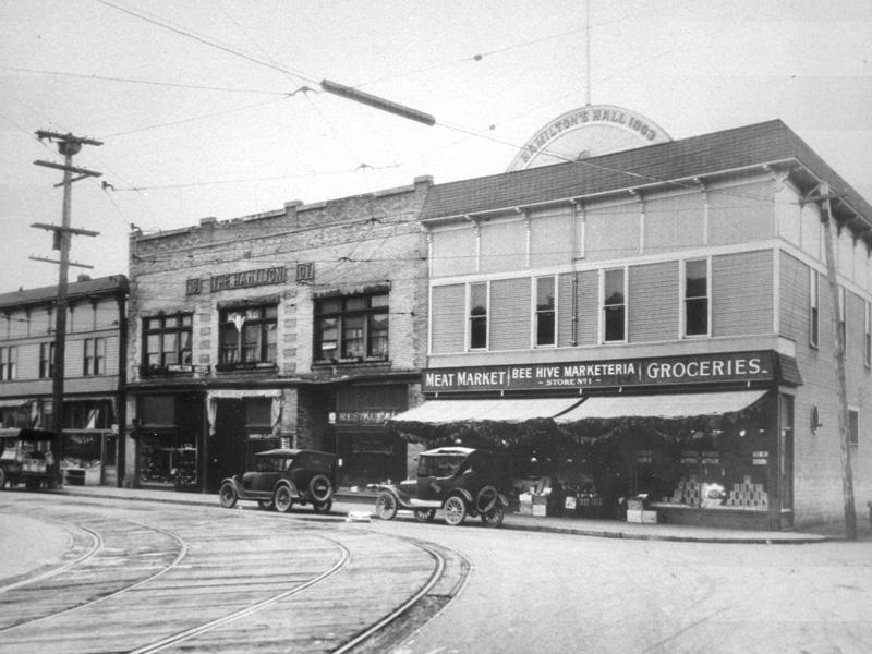 12th Avenue South—Hamilton Hall