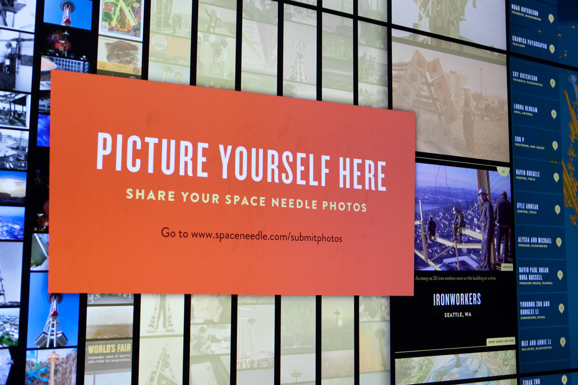 Visitors are encouraged to submit their own photos to include in SkyPad™