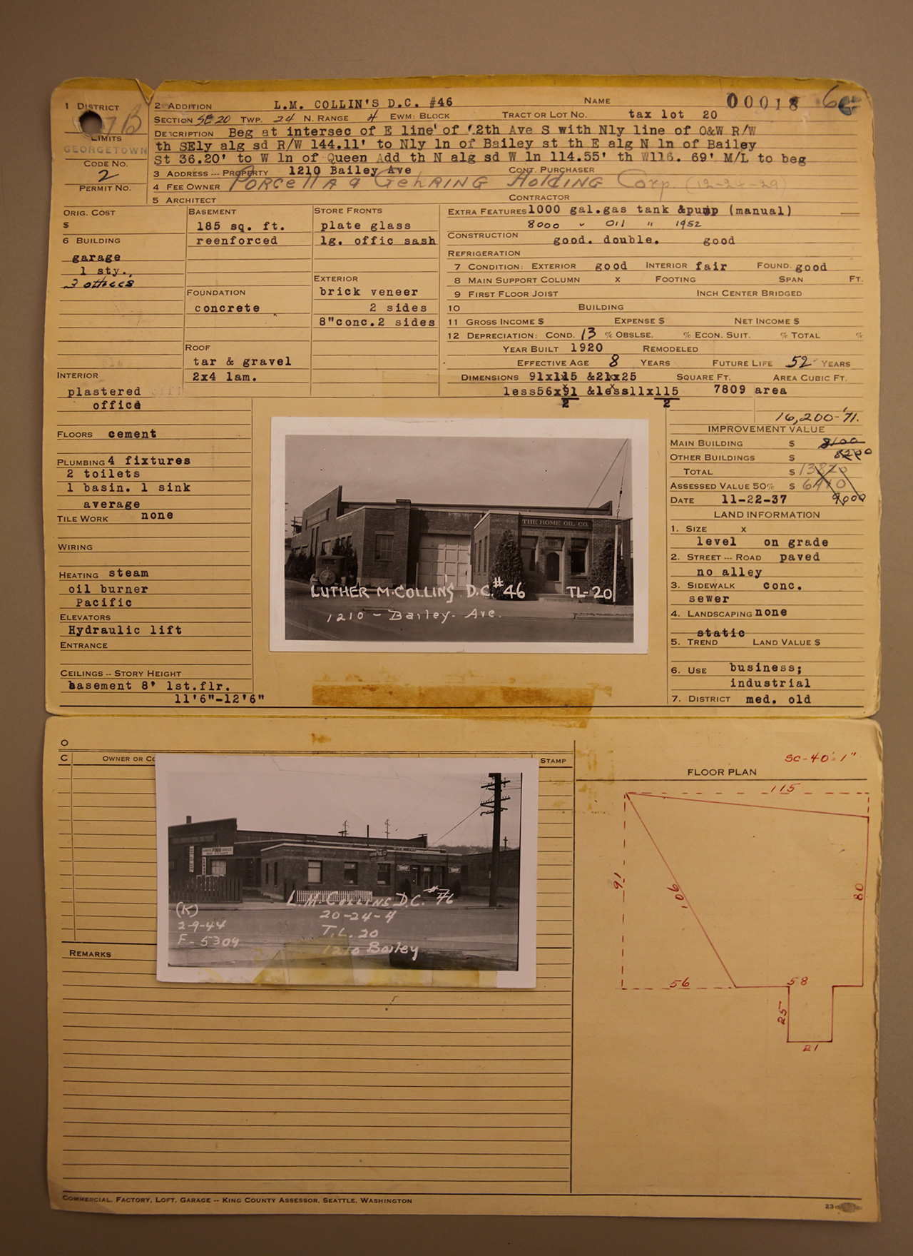 Original documents showing use by G. Porchella & Co.