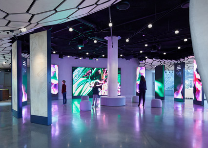 The Spheres: Immersive Media Experience at Understory