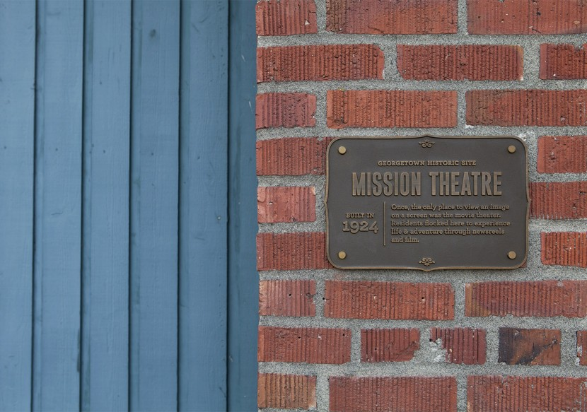 The Mission Theatre operated from 1924–1950. Now the Georgetown Ballroom, it is a popular venue for private events.