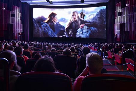 Opening night at Cinerama. © Copyright 2014 Benjamin Benschneider All Rights Reserved.