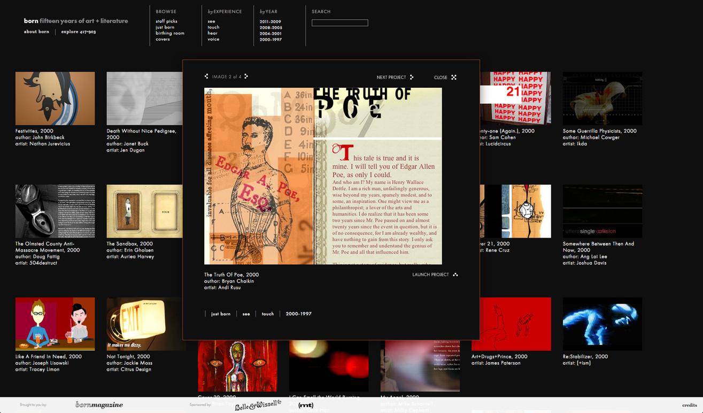 Born's new website