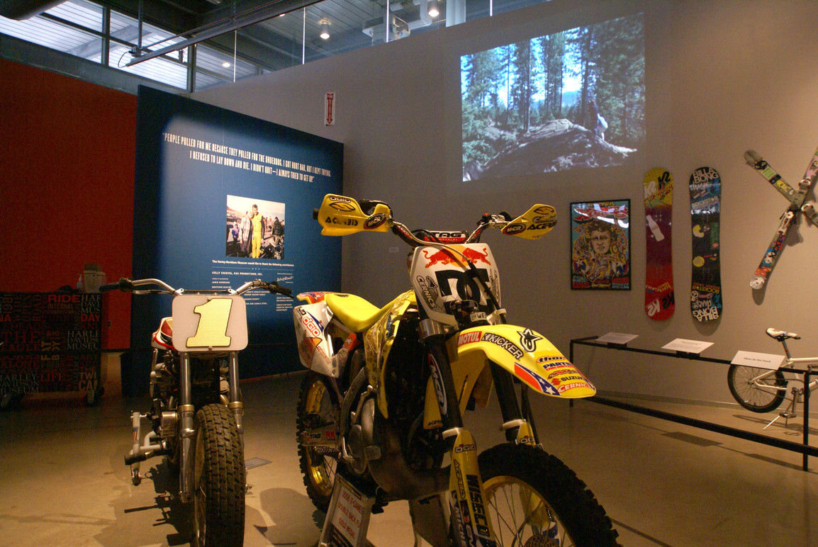 Artifacts from a new generation of daredevils who count Evel as an inspiration.
