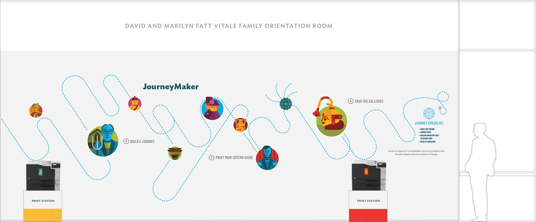 JourneyMaker environmental graphics